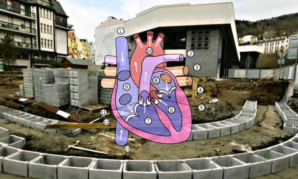 Srdce Vřídelní kolonády dostane bypass
