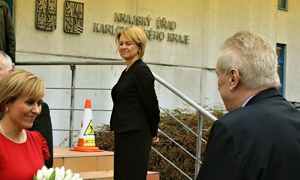 Hejtmanka očekává návštěvu prezidenta
