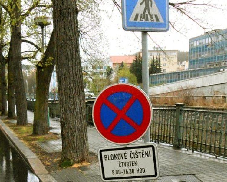 Blokové čištění města