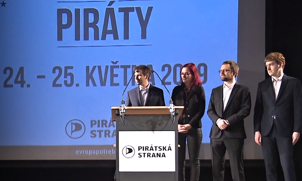Piráti představili lídry voleb do Evropského parlamentu