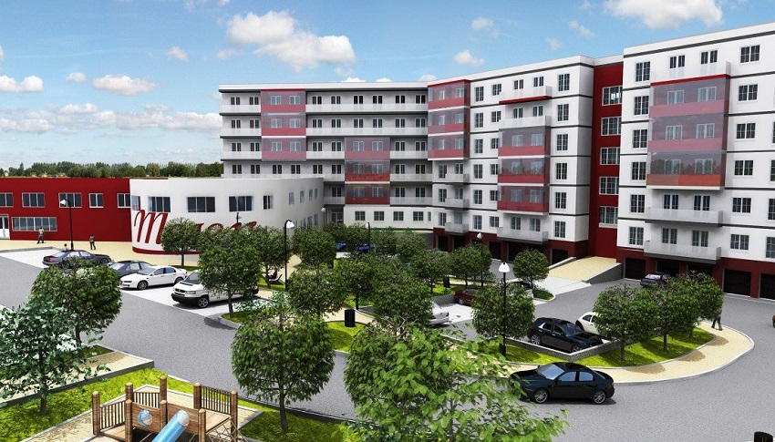 Prodej bytů 2 +kk a 3+kk, 44 až 120 m2. Rezidence Moser - Karlovy Vary