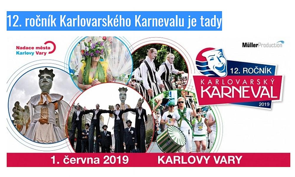 12. ročník Karlovarského Karnevalu je tady