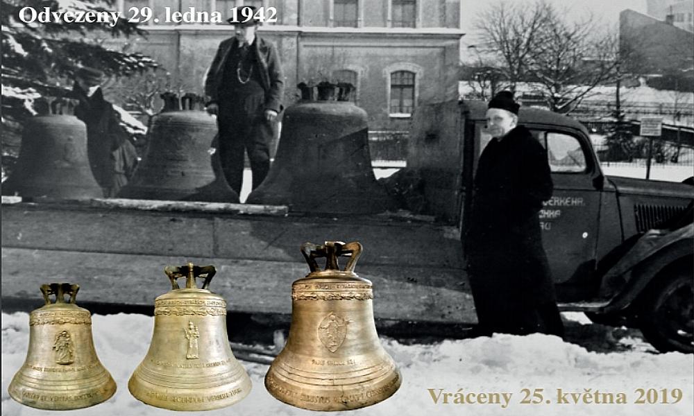 Do kostela v Rybářích se vrací zvony