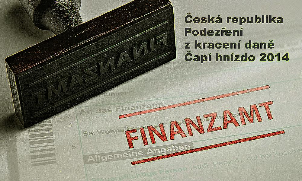 Finanční úřad v Chemnitzu upozornili na Čapí hnízdo už v roce 2014, Češi mlčeli