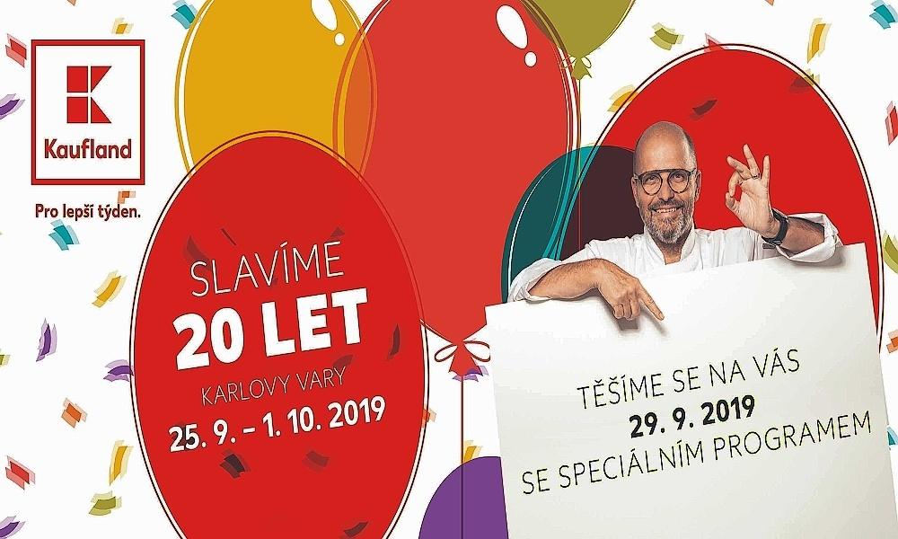 Karlovarská prodejna slaví 20 let. V neděli chystá oslavu pro své zákazníky