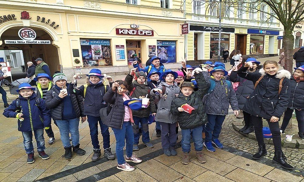 Žáci Základní školy Konečná oslavili 17. listopad