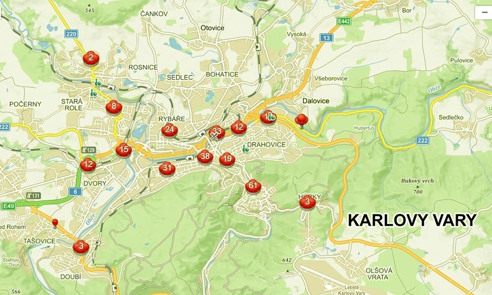 Karlovy Vary chtějí učitele, řidiče i strážníky přilákat na neexistující městské byty