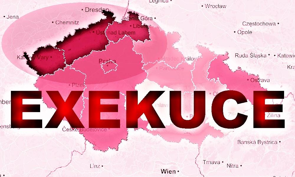 Čechů v exekuci je 834 tisíc