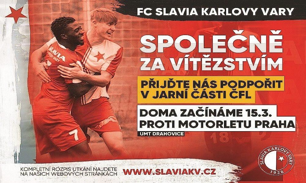 FC Slavia Karlovy Vary - kdy na fotbal