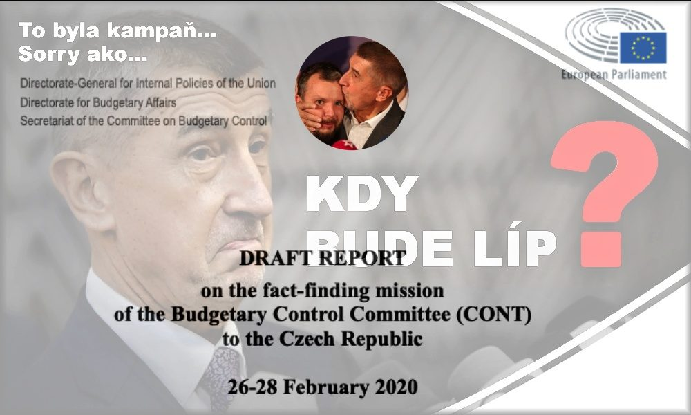 Exkluzivně: Babiš stále ovládá Agrofert, píše se ve zprávě kontrolní mise europarlamentu