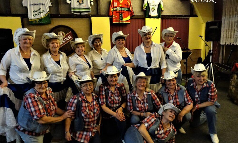 Tanečnice seniorky - nazývané Country Ladies