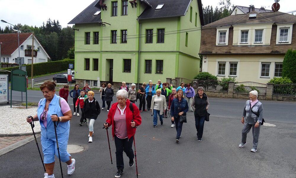 Turistika na Geothovou vyhlídku