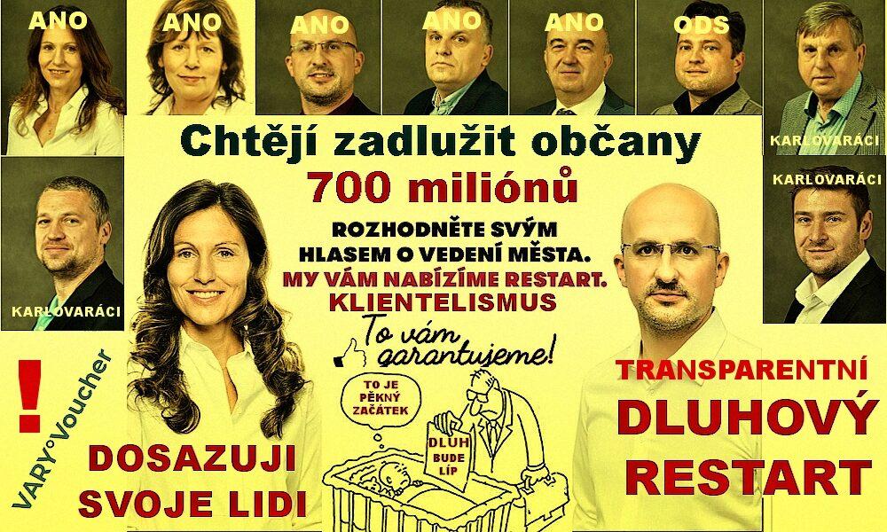Město Karlovy Vary dál opouští občané, politici chystají obří dluhy