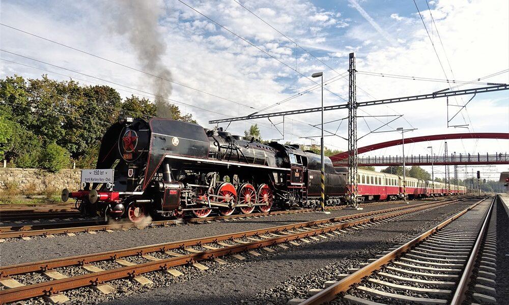 Den parní lokomotivy